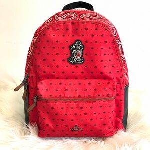 Coach x Disney Mickey Mouse Backpack